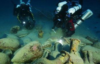 Древние артефакы, обнаруженные в морских глубинах
