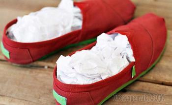 Простые и эффективные способы избавиться от неприятного запаха в обуви