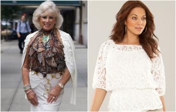 7 блуз, в которых дамы за 45 выглядят старомодно