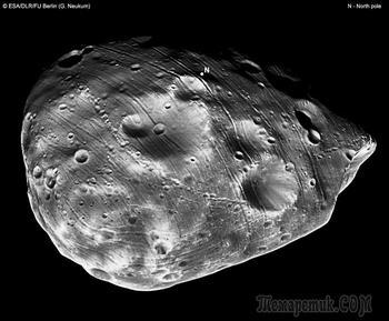 7 фактов про обреченный спутник Марса