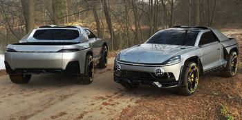 Porsche Traykan: фантазии на тему пикапа Порше