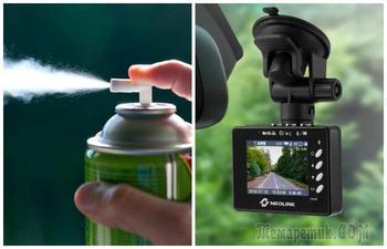 Аэрозоли, вода и видеорегистратор: 11 предметов, которые запрещено оставлять в машине летом