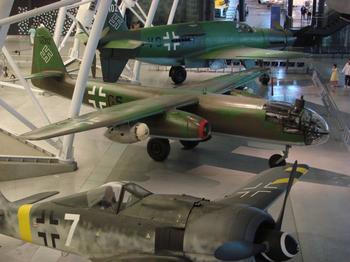 Arado Ar.234 Blitz – первый в мире реактивный бомбардировщик