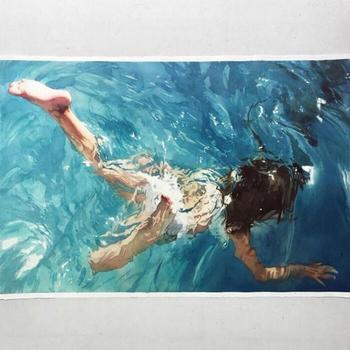 Реалистичные акварельные картины Маркоса Беккари