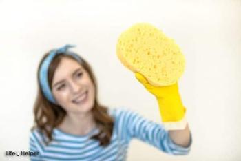 «Выжимаем максимум» из губок для мытья посуды