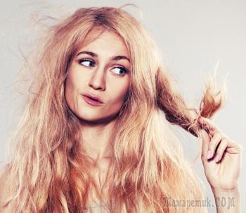 Явные признаки того, что волосам требуется помощь