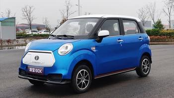 Lingbao BOX: мини электромобиль с ретро дизайном
