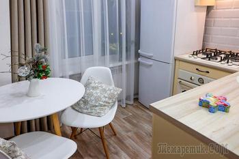 Скандинавская квартира 43 м² в Астрахани