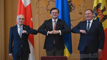 Трио для ЕС: Украина, Грузия и Молдавия объединяют усилия
