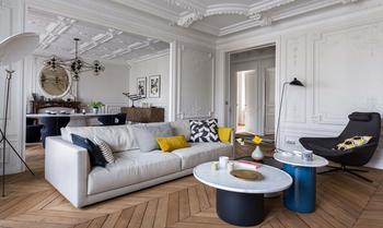 Очарование Парижа в интерьере квартиры