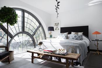 Квартира в Стокгольме с невероятными окнами