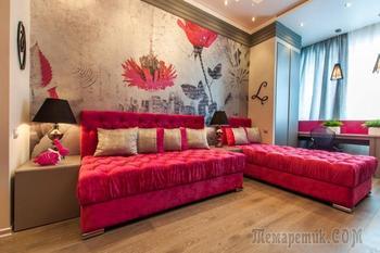 Дизайн интерьера комнаты для 2 девочек-подростков