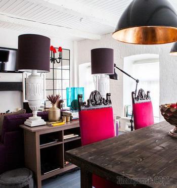 Неординарный дизайн двухкомнатной квартиры в Москве