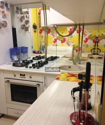 Кухня-малютка 5 кв.м. в хрущевке. Жить можно