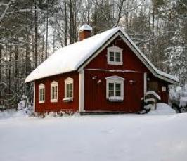 Почему в Швеции сельские дома красят в красный цвет?