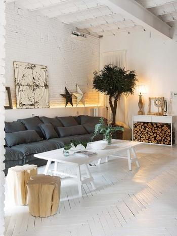 Роскошная квартира в стиле лофт в Барселоне