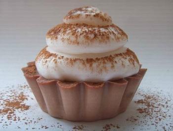 """Мыло """"шоколадный кекс"""". Мастер-класс"""