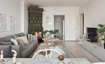 Прекрасная семейная квартира в Швеции