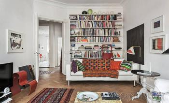 Милейшая шведская квартира в 104 м²