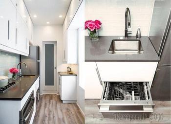 Удивительное превращение аварийной кухни после реконструкции