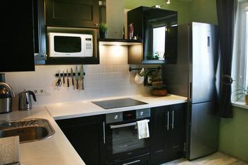 Кухня: просто, лаконично, функционально