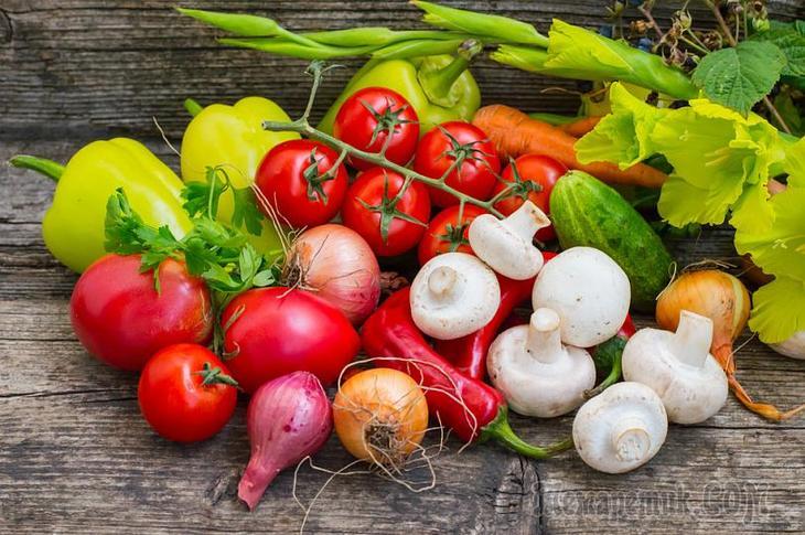 Овощи и фрукты от рака