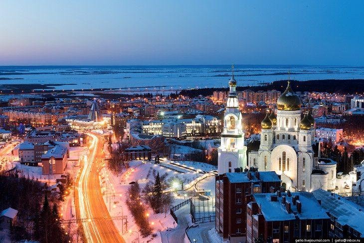 Город среди тайги: Ханты-Мансийск