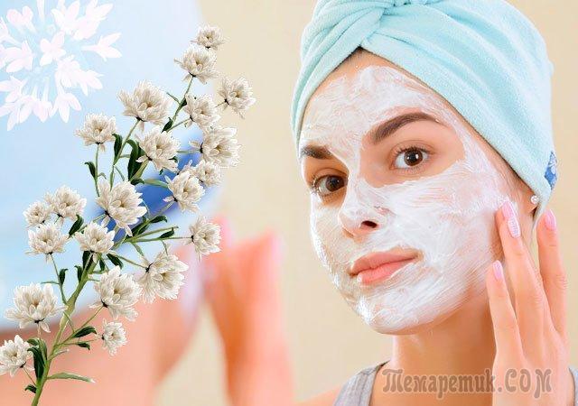 Народные рецепты масок для лица против старения