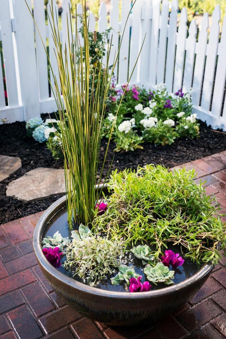 23 Удивительных мини-пруда для небольшого сада или террасы