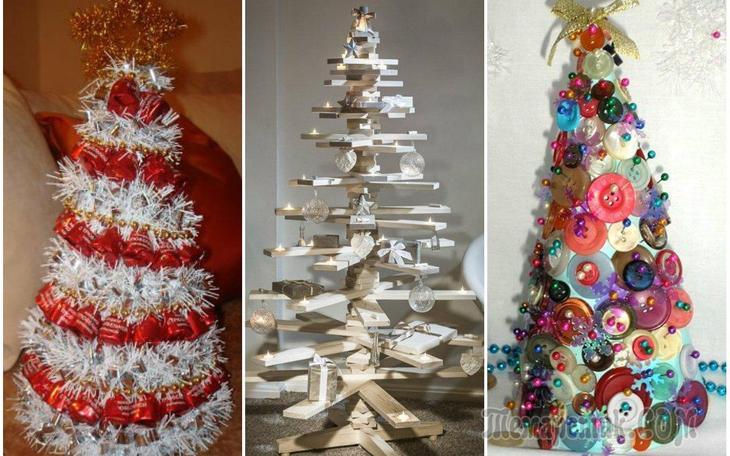 Новогодняя елка на любой вкус — 50 вариантов Вам в помощь