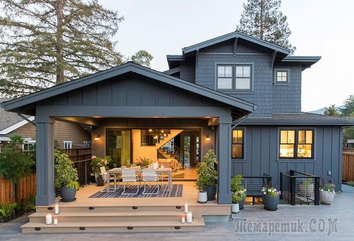 Свежесть и уют в интерьере дома в Силиконовой долине, Калифорния