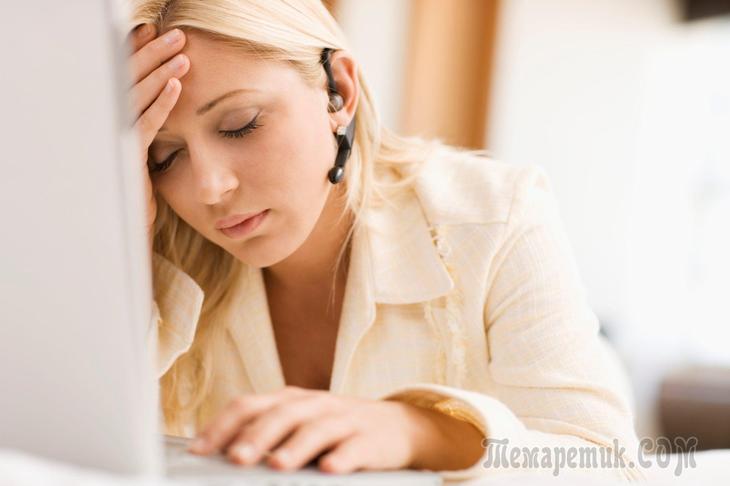 Хроническая усталость и недосып