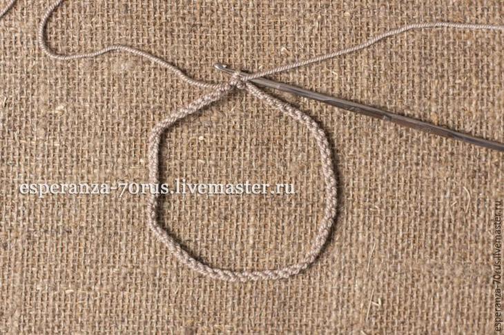 Вяжем крючком гетры с объемным рисунком, фото № 2