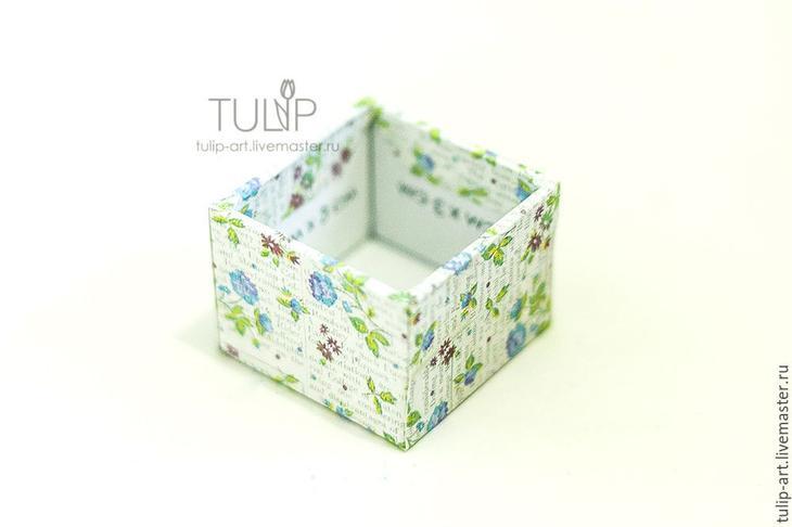 Мастер-класс: как создать подарочную коробочку для кольца, фото № 10