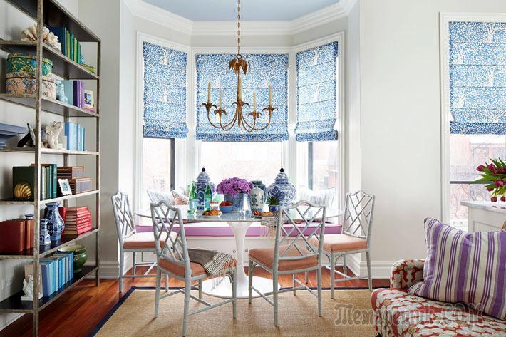 Жизнерадостный дизайн интерьера квартиры в Чикаго