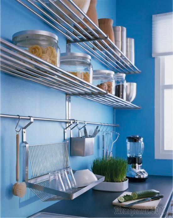 Рейлинг на кухню полезный и универсальный атрибут