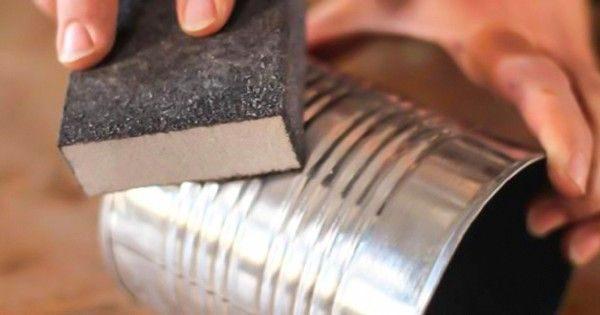 Крутые идеи применения жестяных банок