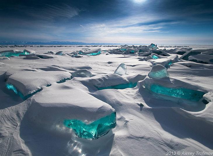 23 фото интересных образований изо льда
