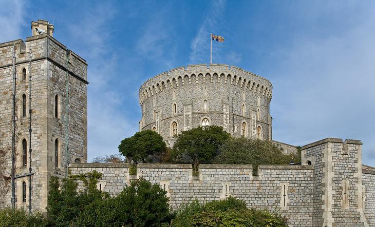 Виндзорский замок, графство Беркшир, Англия