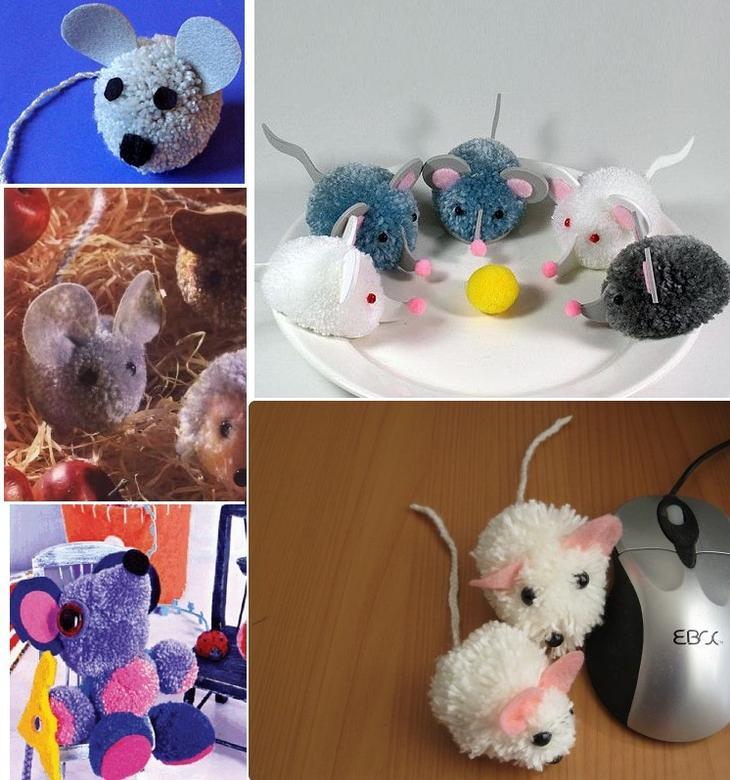 Разные виды мышек