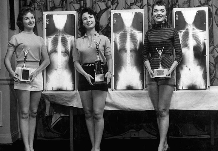 «Мисс идеальная осанка», 1956 год