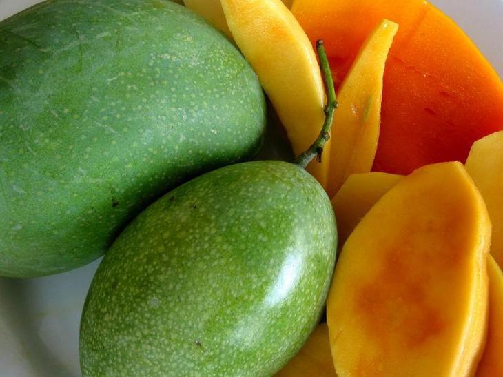 выбор плода манго