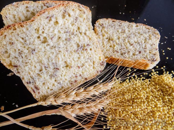 Ночной хлеб за 5 минут / Такой домашний хлеб получится даже если раньше не готовили!