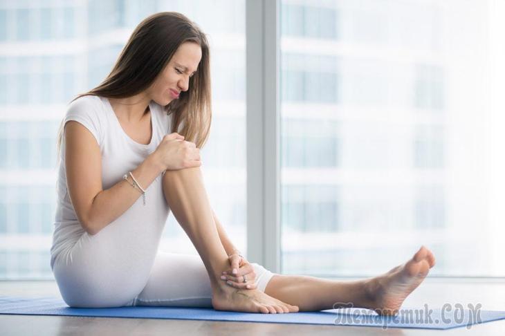 Как избавиться от судорог в ногах