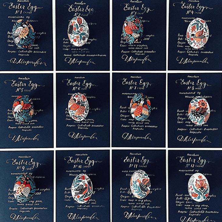 Пасхальные яйца фольклорные мотивы от художницы из Узбекистана Динары Мирталиповой, фото № 22