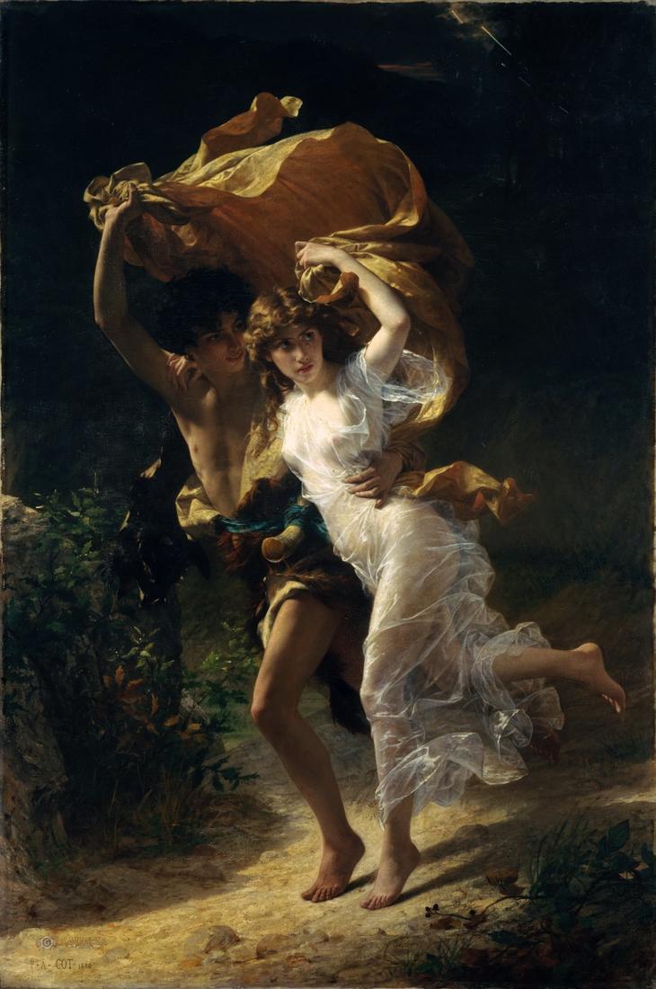 La Tempete by Pierre Auguste Cot