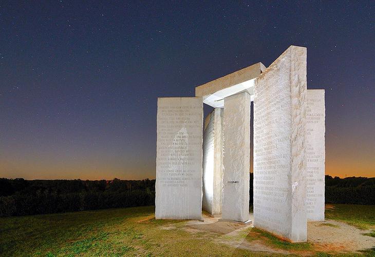 Скрижали Джорджии США. Уцелевшие останки цивилизаций. Самые загадочные сооружения планеты, сохранившиеся до наших дней. Фото с сайта NewPix.ru