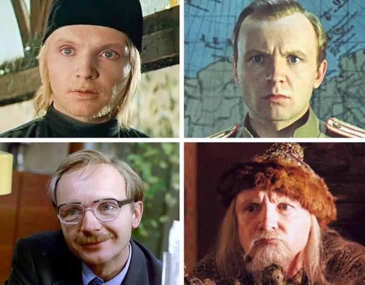Советские актёры, чей талант настолько огромен, что диву даёшься их неожиданным перевоплощениям