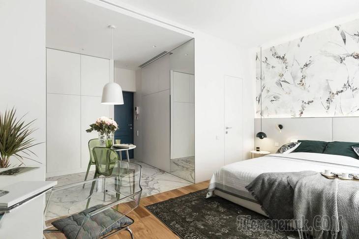 27 кв. м красоты в однокомнатной квартире
