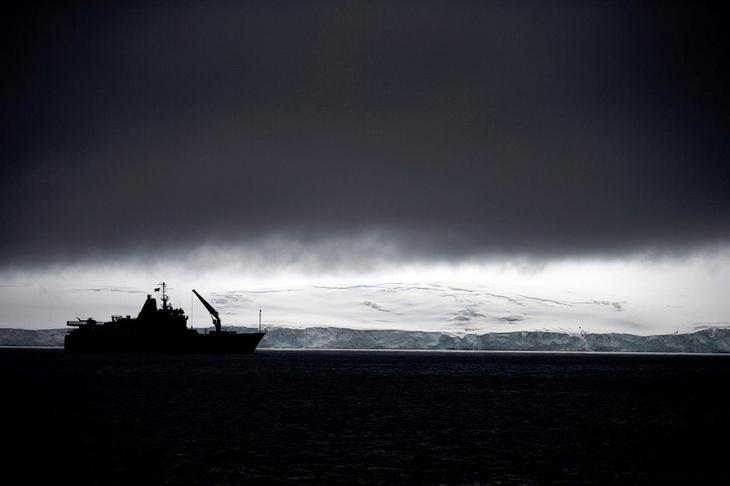 Антарктида — самый высокий континент Земли